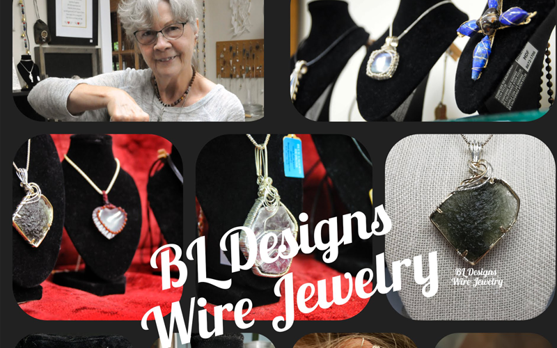BL designs jewelry collaged photo
